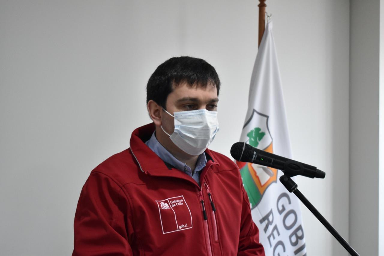 """Intendente Prieto por cambio de gabinete: """"sin duda es un aporte para llevar al país hacia adelante en el combate a la pandemia y la reactivación social y económica"""""""