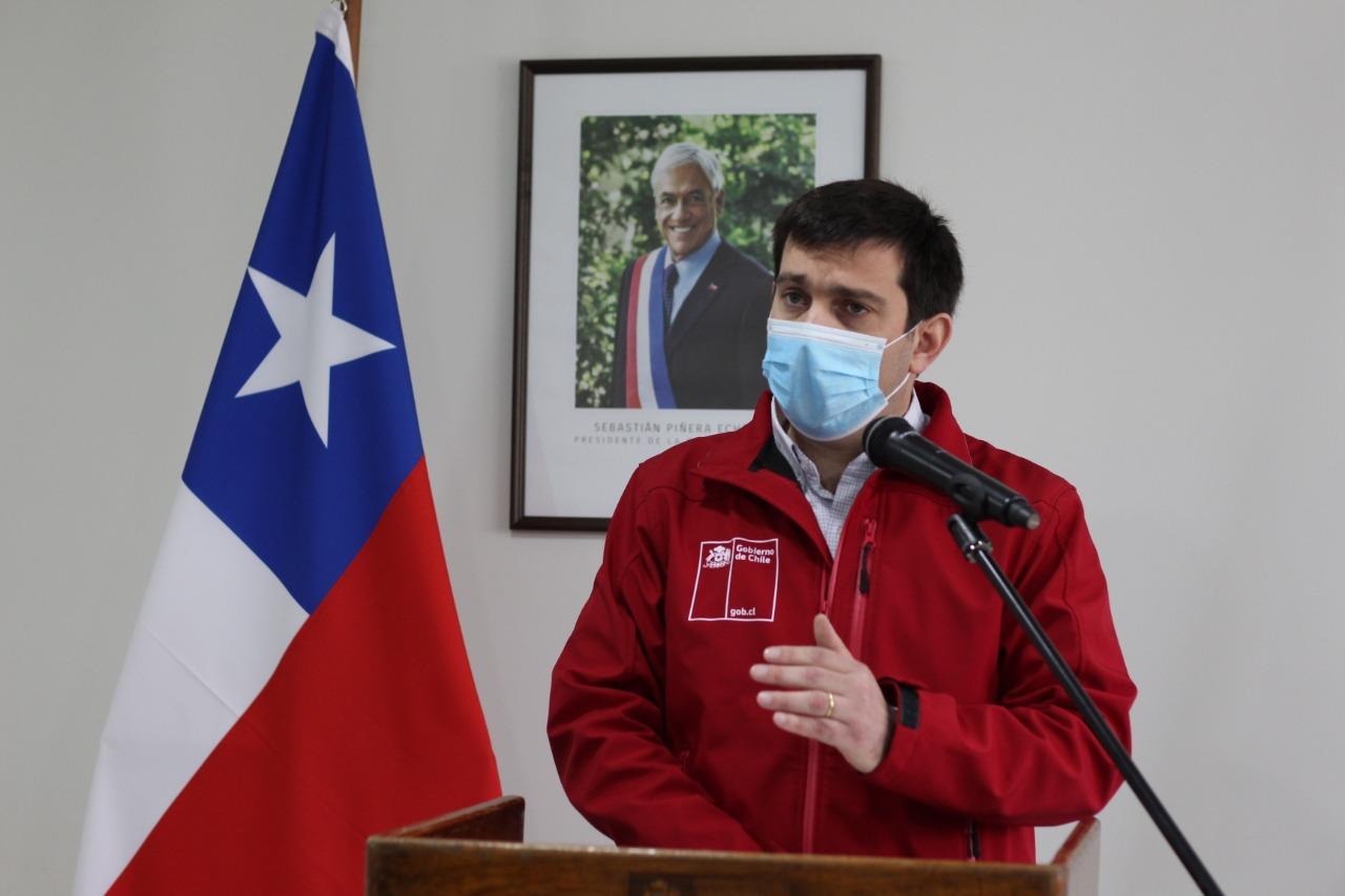 Intendente Prieto destaca plataforma del Servicio de Salud del Maule para ver exámenes de covid vía online