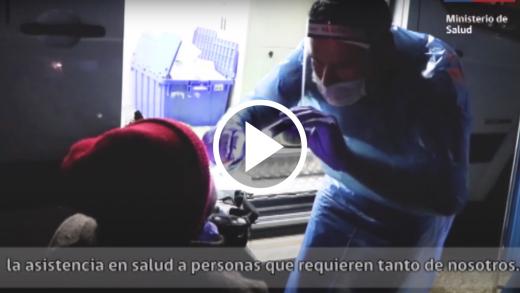 Comenzó la Ruta Médica para atender a personas en situación de calle en el Maule