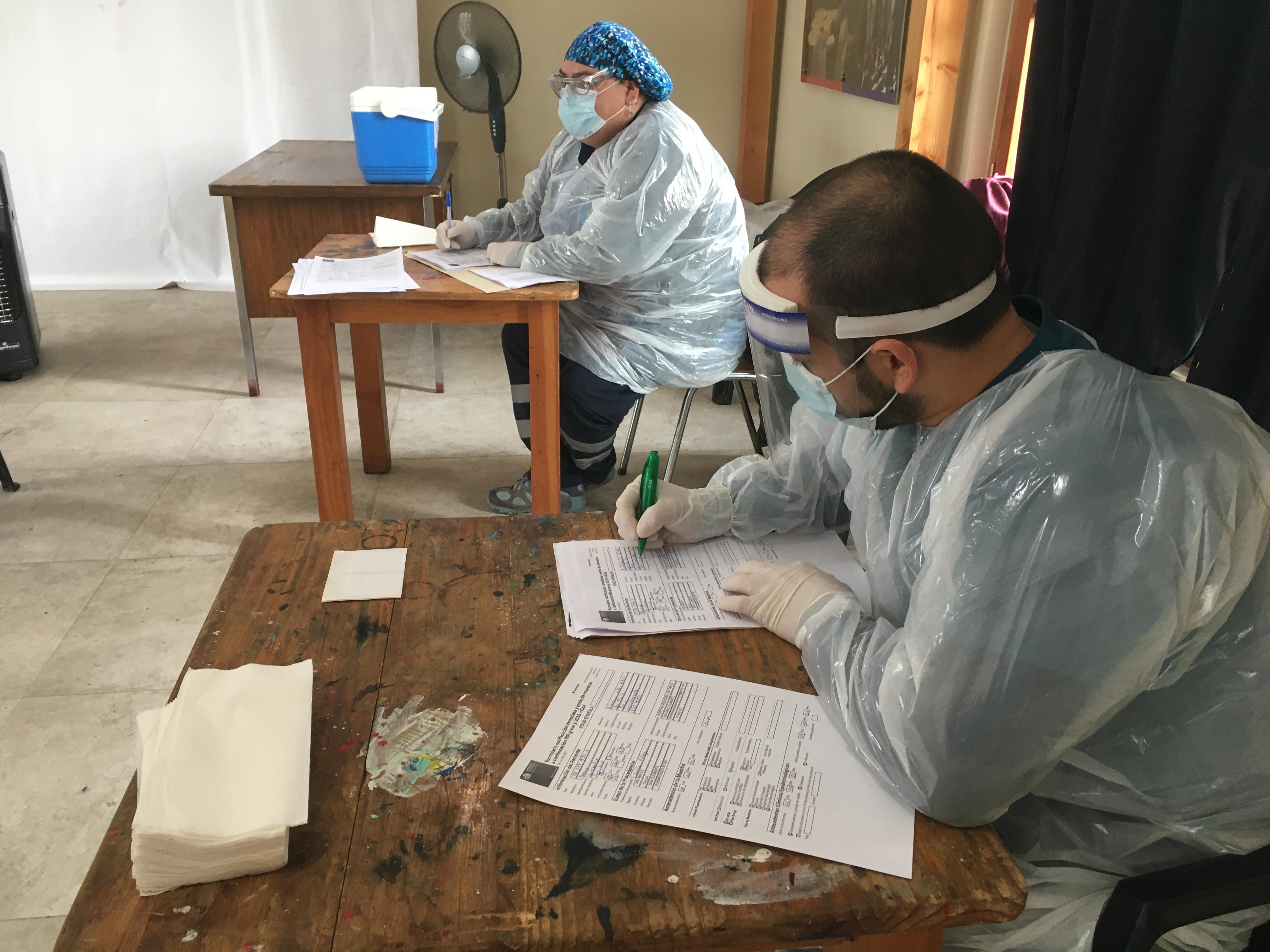 Aumentan testeos PCR y altas médicas por covid-19 en San Clemente