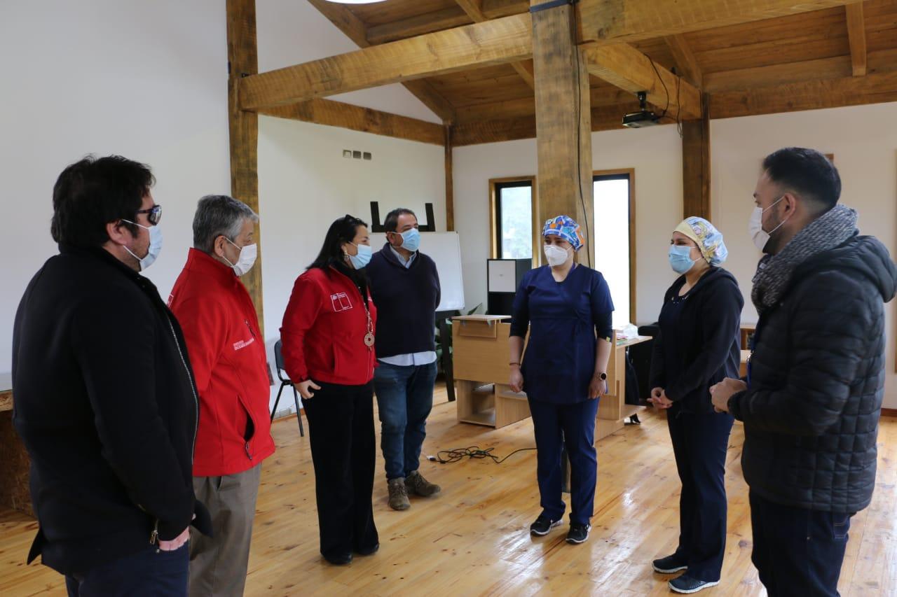 Seremi de Salud abre residencia sanitaria en Pelluhue