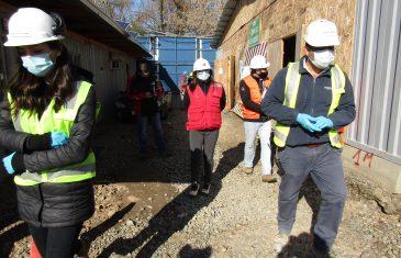 Dirección del Trabajo fiscaliza a empresas constructoras sobre aplicación de protocolo preventivo frente al Covid-19