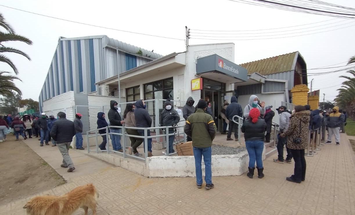 Municipio de Teno gestiona medidas para evitar aglomeraciones frente a pago del 10% de las AFP