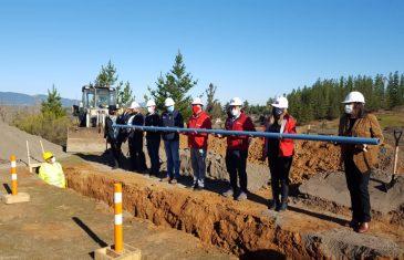 MOP impulsa reactivación e inicia construcción de sistema de Agua Potable Rural Orilla de Purapel de San Javier