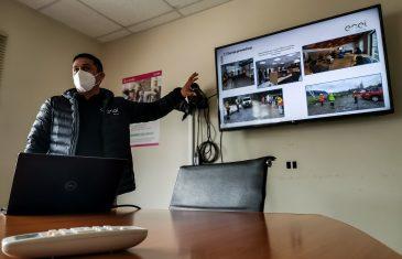 """Seremi del Trabajo e ISL presentan hoja de ruta del """"Paso a Paso laboral"""" a trabajadores de importante obra de ENEL"""