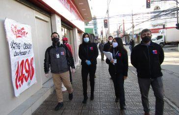 Dirección del Trabajo suspendió a 2 empresas en la ciudad de Curicó por no disponer de protocolo preventivo frente al Covid-19