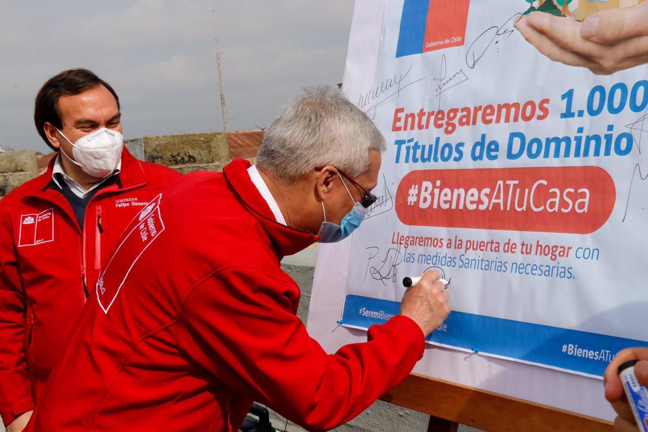 """Bienes Nacionales lanza campaña """"Bienes a Tu Casa"""""""