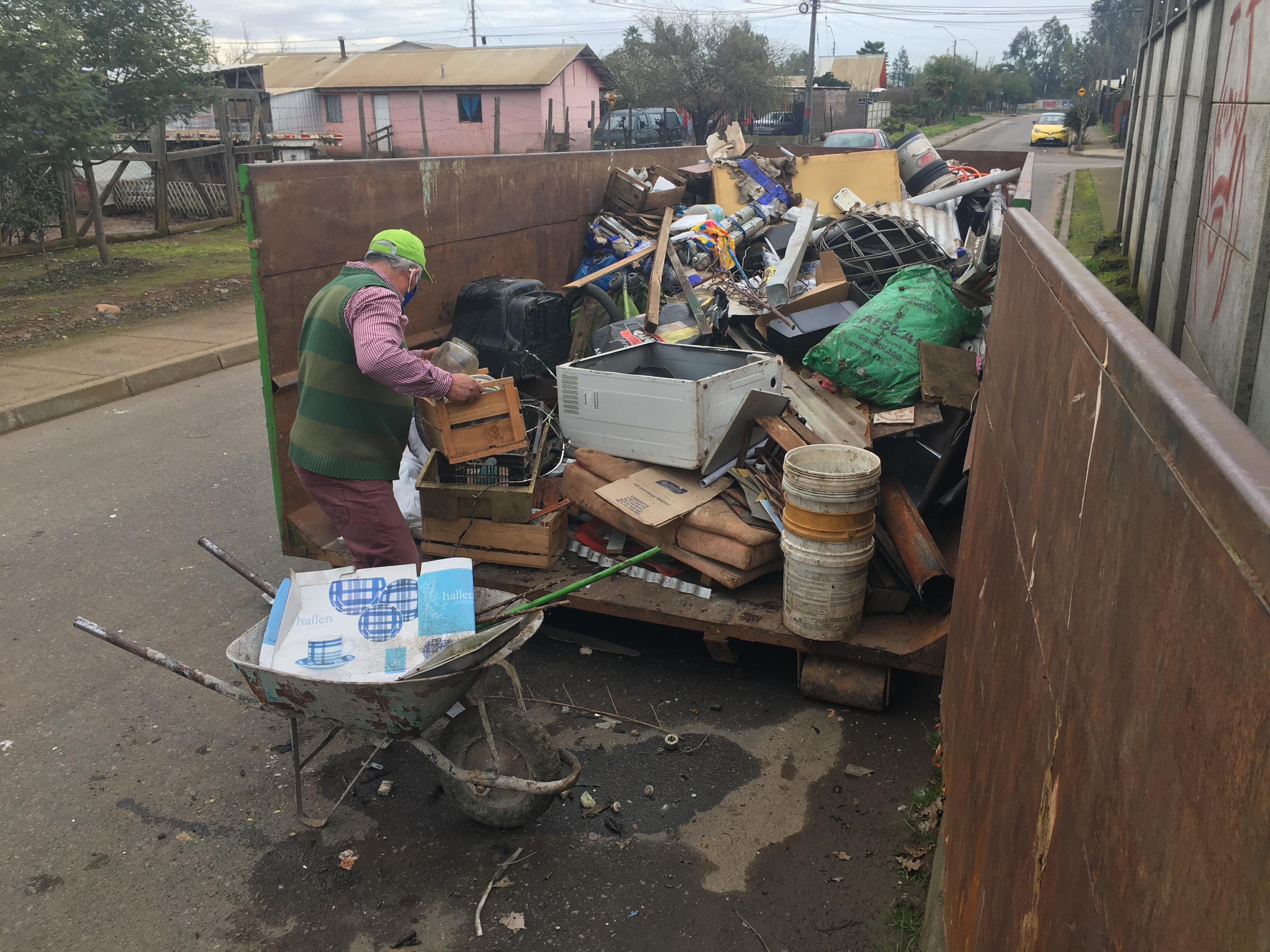 Nuevo operativo de retiro de desechos voluminosos llega a Mariposas, Santa Delia y los Treguiles este sábado 29 de agosto