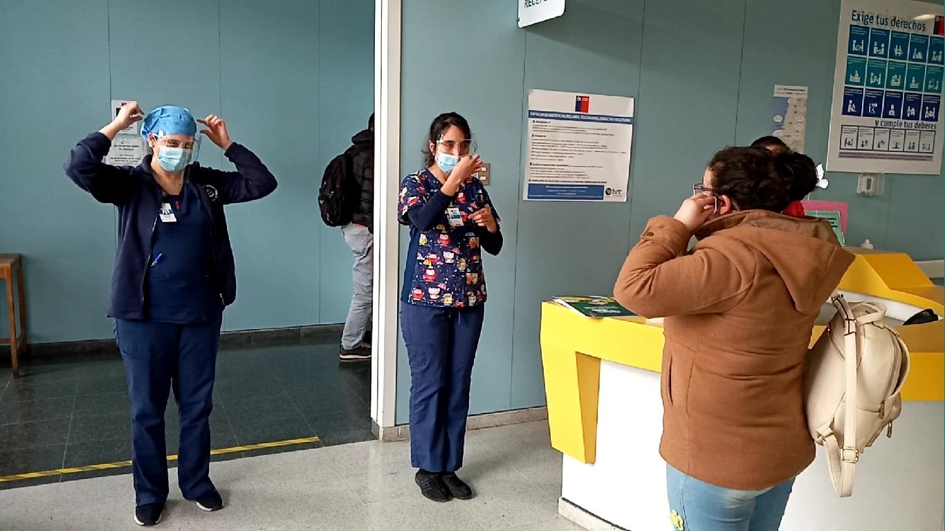 HRT retoma visita de padres en su unidad de pacientes crítico pediátrica