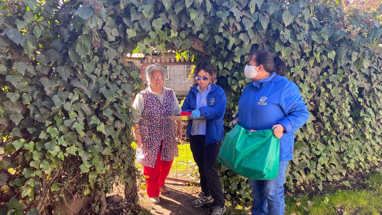 Municipio de Retiro comenzó entrega de bolsas de mercadería a sus vecinos