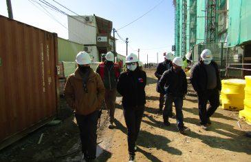 Dirección del Trabajo difunde en la Construcción el nuevo Formulario Único de Fiscalización de medidas contra el Covid-19