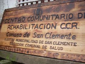 Centro comunitario de rehabilitación (CCR) de San Clemente sigue entregando prestaciones a sus usuarios y usuarias en medio de la pandemia del covid-19