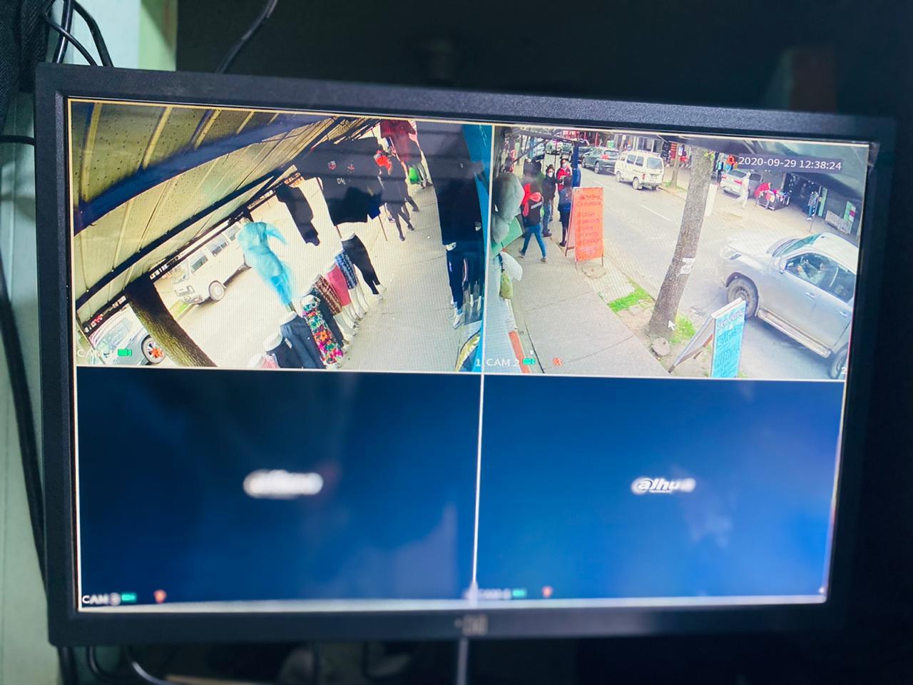 Importante barrio comercial de Parral cuenta con modernas cámaras de televigilancia