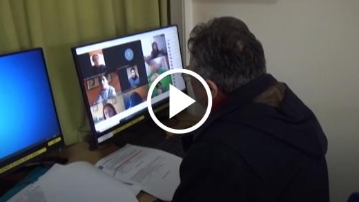 El rol de la familia ha sido clave en el aprendizaje de los estudiantes de la Escuela Aurora de Chile en Talca durante la pandemia del COVID-19