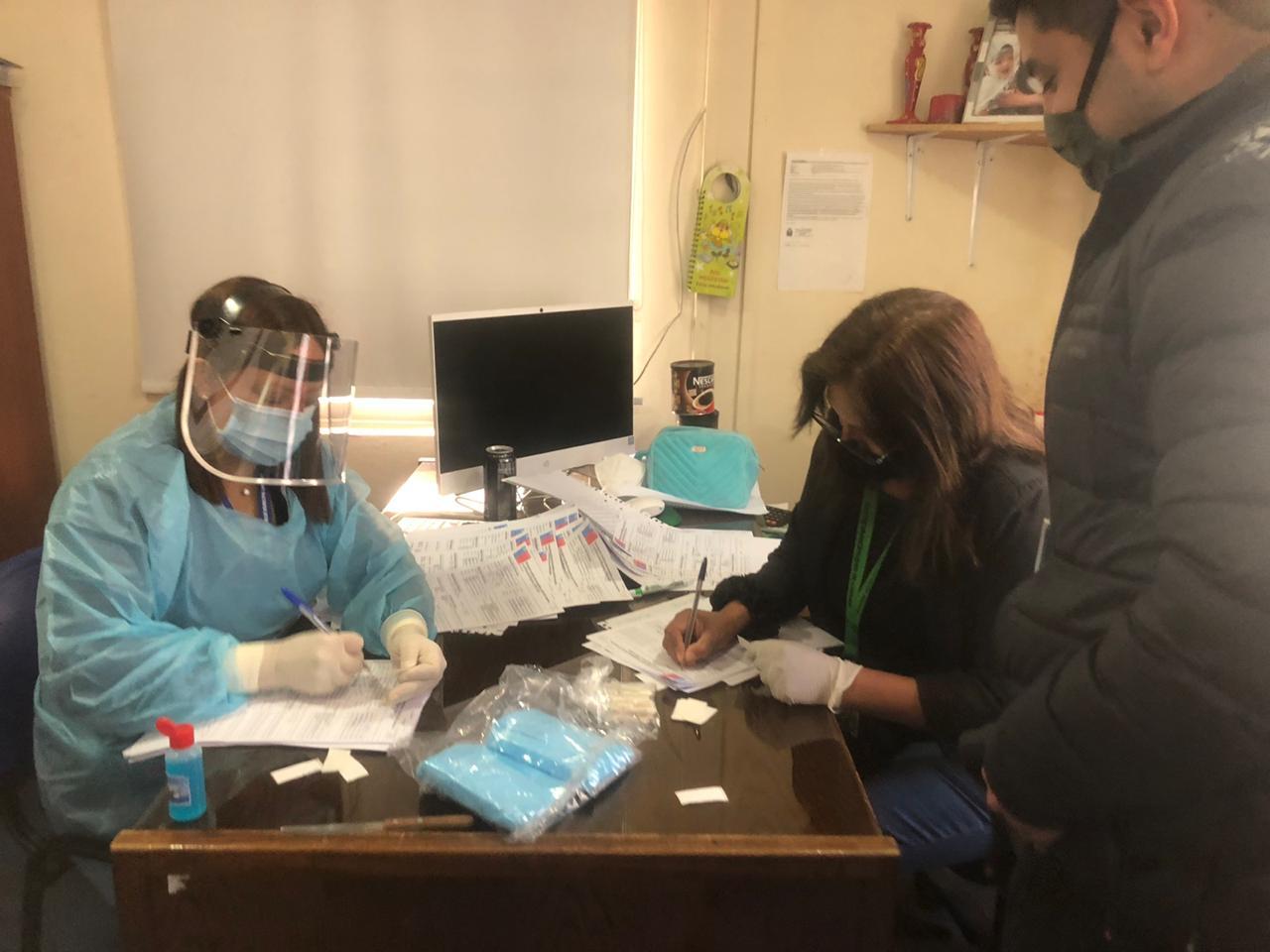 Longaví refuerza toma de muestras PCR en servicios públicos y predios agrícolas