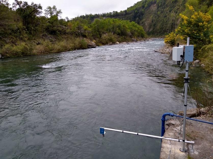 Se instala nueva estación de monitoreo satelital en Río Longaví