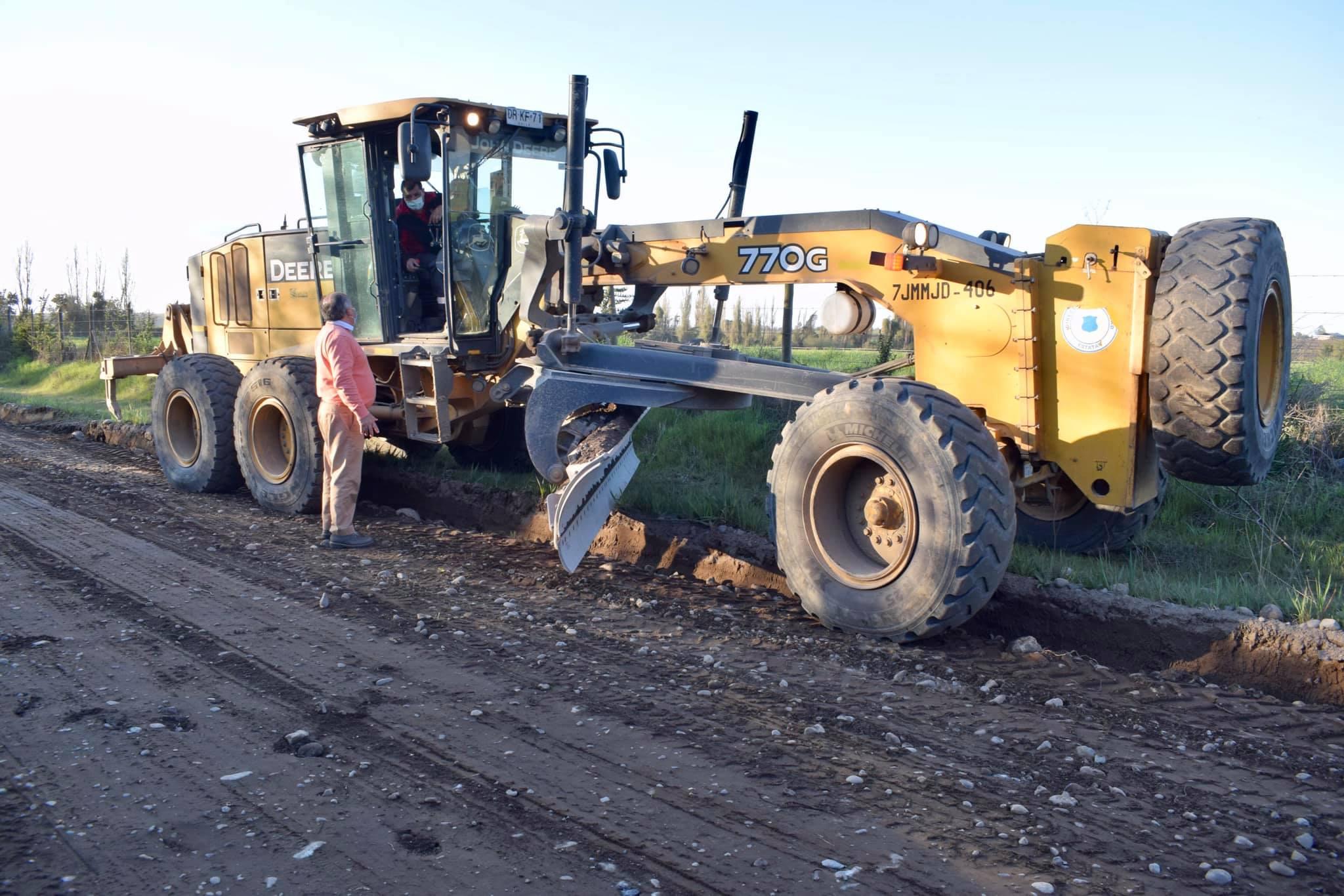 Obras de mejoramiento vial en Retiro