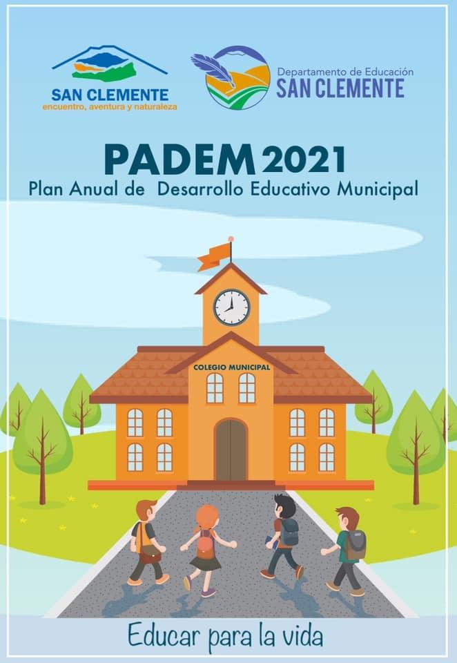 DAEM San Clemente entregó plan de desarrollo educativo (PADEM) año 2021 al concejo municipal