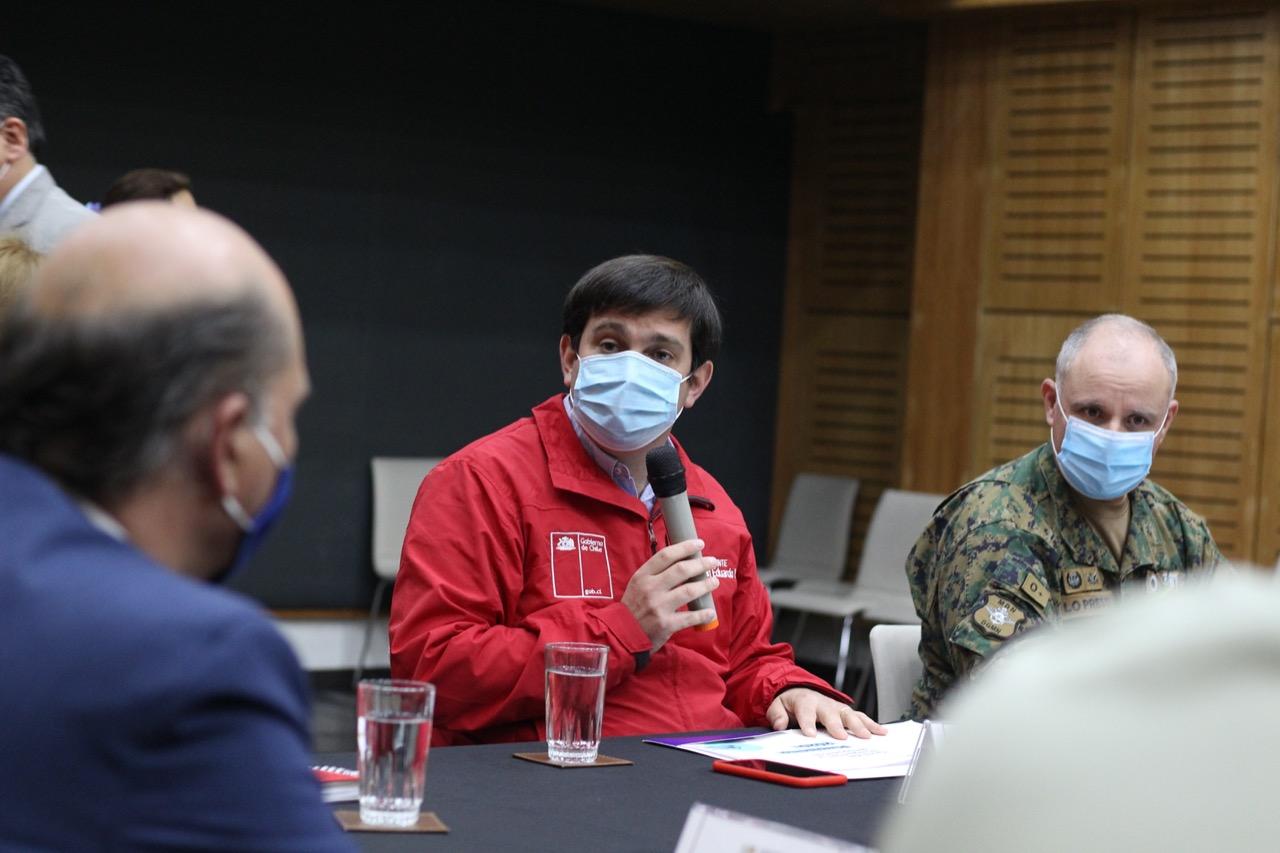 Intendente Prieto explicó protocolo para medios de comunicación para Plebiscito 2020
