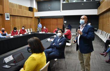 Gobierno y privados participaron en coordinación regional de Incendios Forestales