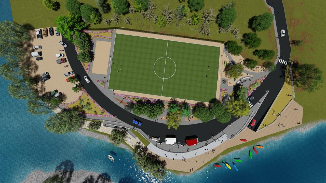 Concejo municipal aprobó recursos para proyecto Borde Río de San Javier