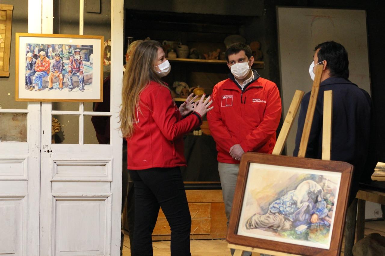 Gobierno Regional financió proyecto cultural para artistas de la región del Maule