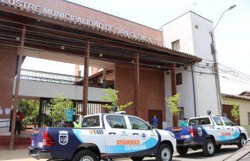 Municipio de San Clemente adquirió dos nuevas camionetas para Seguridad Ciudadana