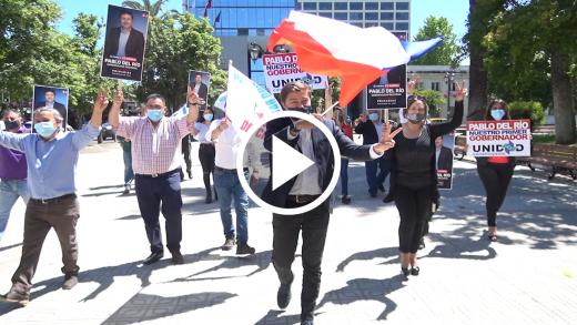 Pablo del Río lanzó su candidatura a gobernador regional del Maule