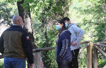 Maulinos completaron aforo de Parque Nacional Radal Siete Tazas antes de medio día