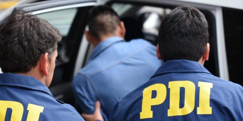 PDI Molina detuvo al sujeto que provocó incendio en domicilio de su pareja