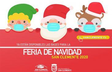 Comenzó la Feria Navideña San Clemente 2020