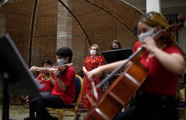 Primera Dama destaca los más de 20 conciertos que la FOJI regalará para disfrutar en familia en esta Navidad