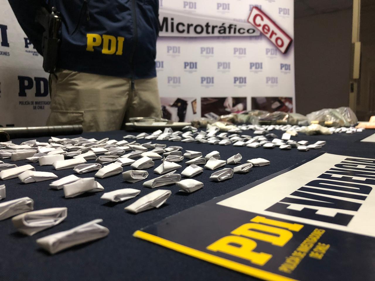 PDI TALCA detuvo a sujeto por microtráfico e infracción a la ley de armas
