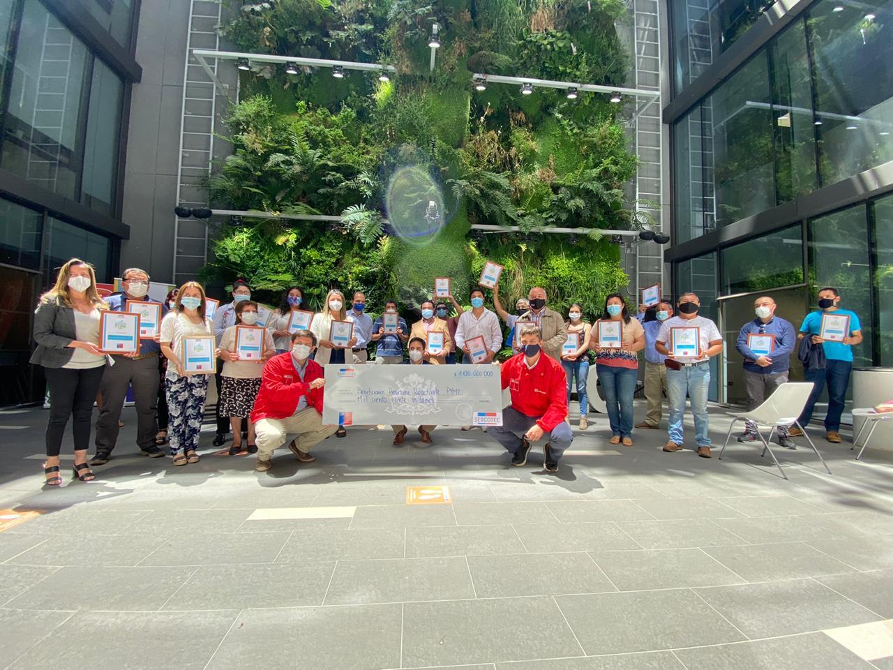 Gobierno del Maule sigue apoyando la reactivación de las Pymes en la región