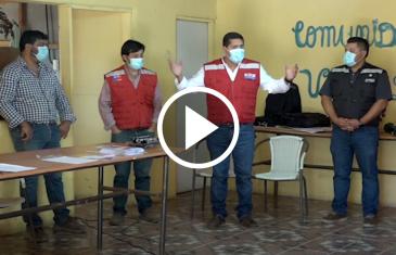 Retoman faenas de proyecto APR del sector Vega de Salas en Linares: Se estima que las obras finalicen en septiembre de este año beneficiando a más de 125 familias del sector