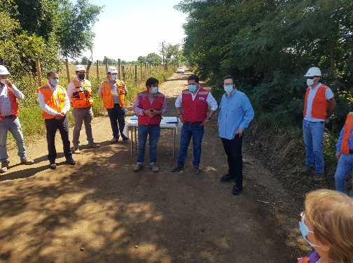 MOP inicia proyecto para pavimentar caminos en San Víctor Álamos y El Emboque de la comuna de Linares