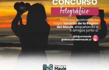 INJUV y Descubre el Maule lanzan concurso fotográfico paradestacar las bellezas naturales de la región
