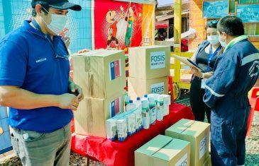 Organizaciones y comunidades vulnerables de todo el Maule reciben apoyo del FOSIS para mitigar los efectos de la pandemia