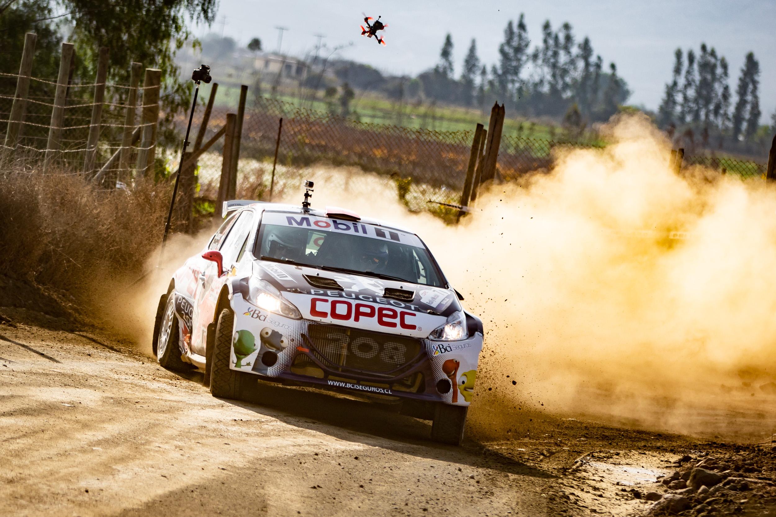 Chaleco López se ubicó entre los seis mejores en la prueba que abre la actividad del Copec RallyMobil 2021.