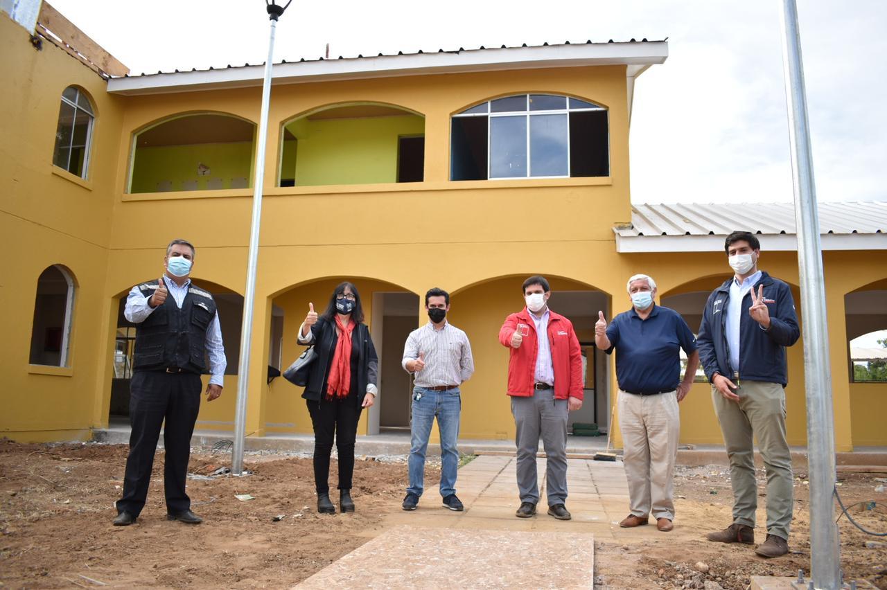 La construcción del Centro Diurno de Adultos Mayores en Cauquenes se encuentra en la última etapa