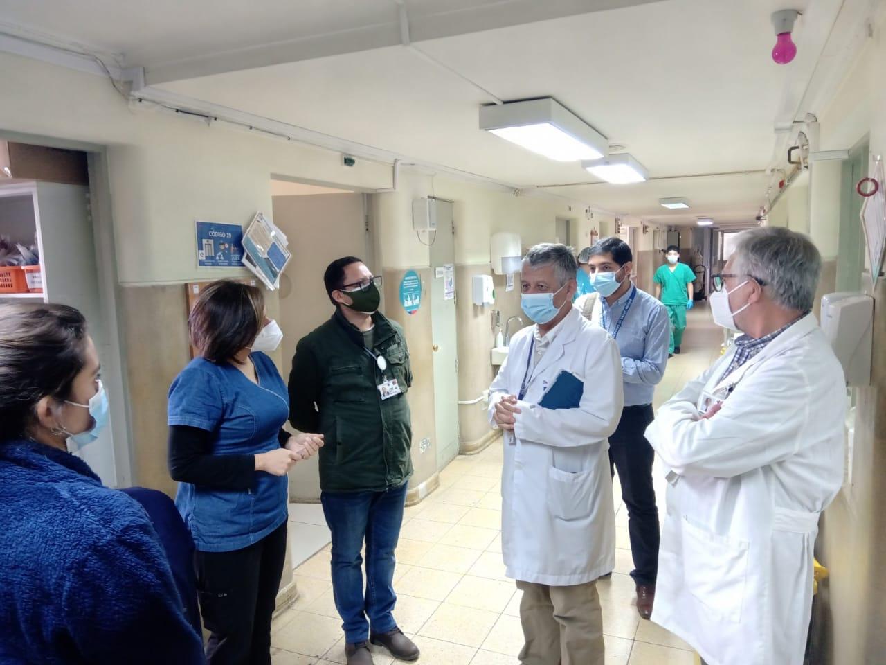 Director del SSM supervisó Hospitales de Alta Complejidad