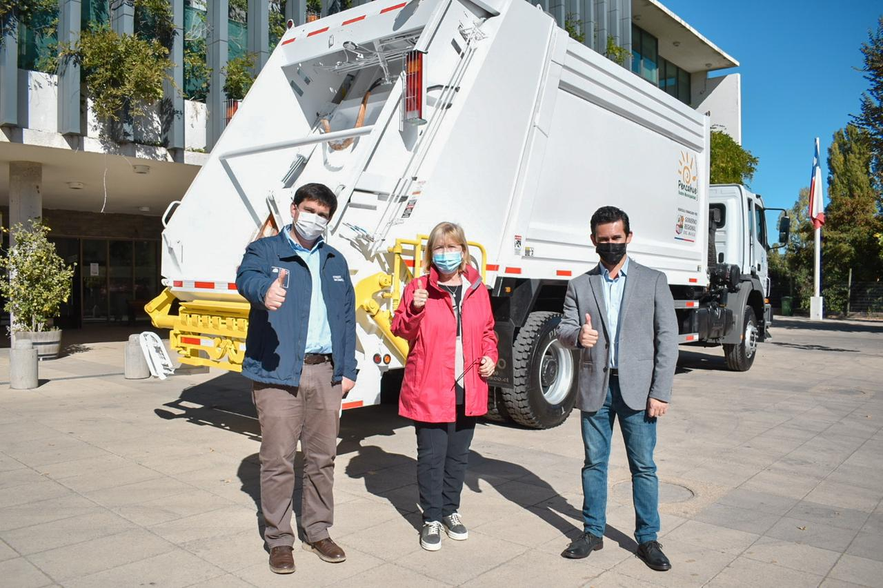 Pencahue contará con nuevo camión recolector de basura