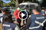 Autoridades regionales efectúan intensas fiscalizaciones en Linares por casos positivos de Covid. A pesar de estar en cuarentena éste supera el 73% de aumento