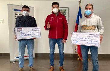 Gobernador de Curicó hizo entrega de Fondo Social Presidente de la República a organizaciones sociales