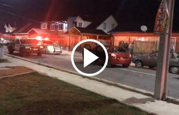 Tras persecución policial, carabineros logra ubicar en Maule norte vehículo robado mediante violento portonazo ocurrido en Villas Unidas