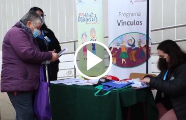 Municipalidad de San Javier dispuso de profesionales para realizar atención a adultos mayores postrados o en situación de abandono.  Mostrando de esta manera el compromiso que ha asumido con este importante sector de la comunidad