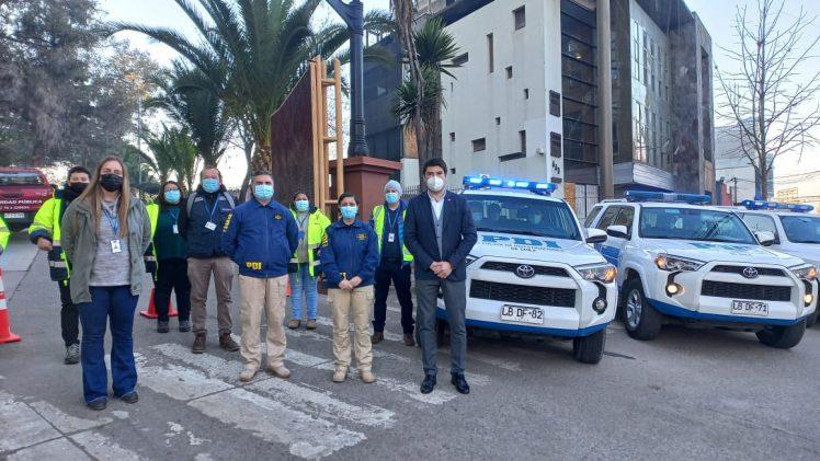 Intensas fiscalizaciones a personas en Cuarentena por Covid-19 y contactos estrechos en la Provincia de Curicó