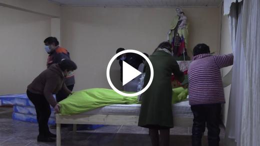 Habilitan albergue para personas en situación de calle en Constitución