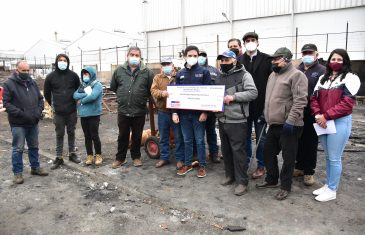 SERCOTEC entregó subsidio a comerciantes tras incendio en macroferia