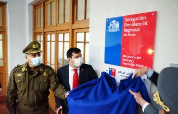 Delegado presidencial inaugura las nuevas dependencias del organismo